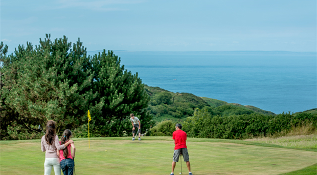 Woolacombe & Mortehoe  Golf Club Picture 1