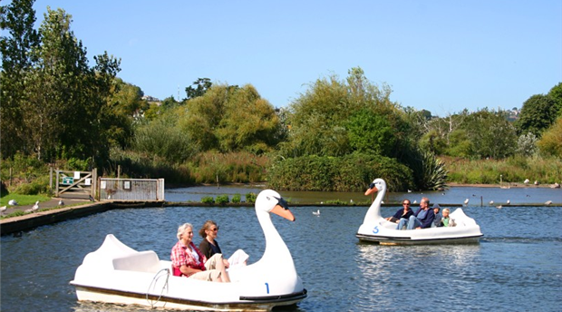 Goodrington Boating Lakes Picture 1